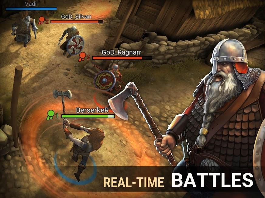 دانلود I, Viking 1.20.1.56278 - بازی اکشن من وایکینگ هستم اندروید