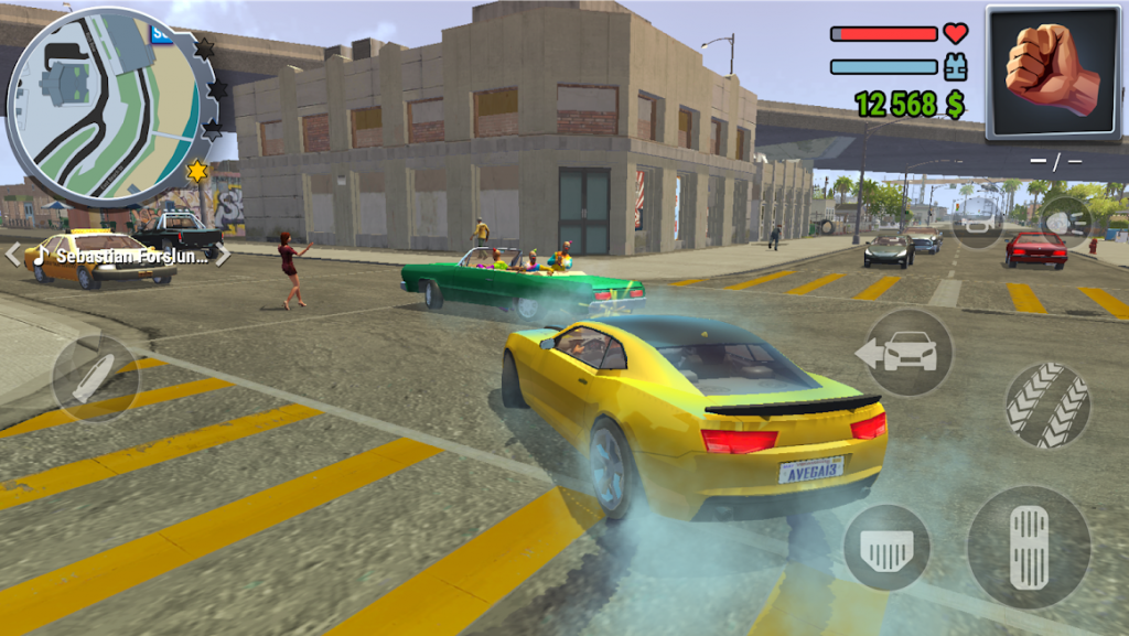 دانلود Gangs Town Story 0.12.11b – بازی اکشن گنگسترها اندروید