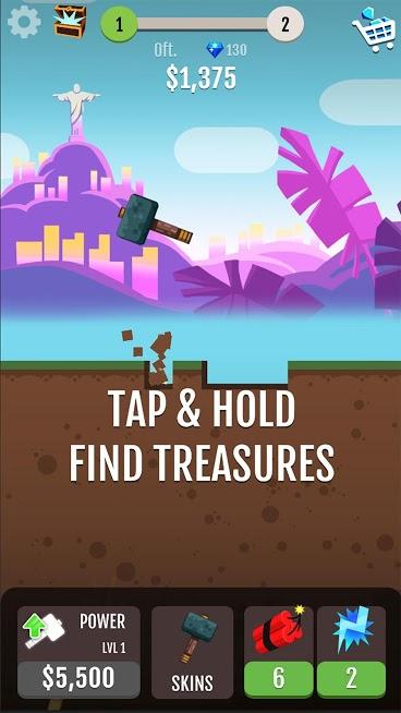 دانلود Hammer Jump 1.6.0 – بازی چکش پرنده اندروید
