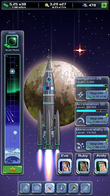 دانلود Idle Tycoon: Space Company 1.9.5 – بازی شبیه سازی شرکت فضایی اندروید