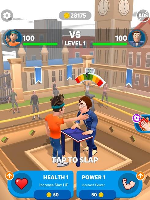 دانلود Slap Kings 1.3.2 - بازی جالب استاد سیلی برای اندروید