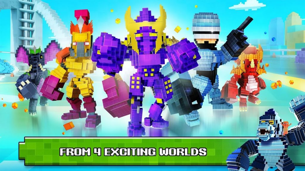 دانلود Pixel Hereos: Battle Royal 1.2.223 – بازی قهرمانان پیکسلی اندروید