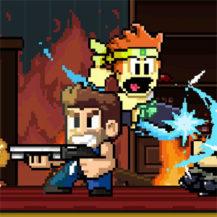 دانلود Dan The Man 1.9.01 – بازی آرکید پیکسلی و پر طرفدار برای اندروید
