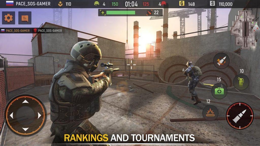 دانلود Striker Zone Mobile: Online Shooting Games 3.24.0.3 - بازی تیراندازی آنلاین اندروید