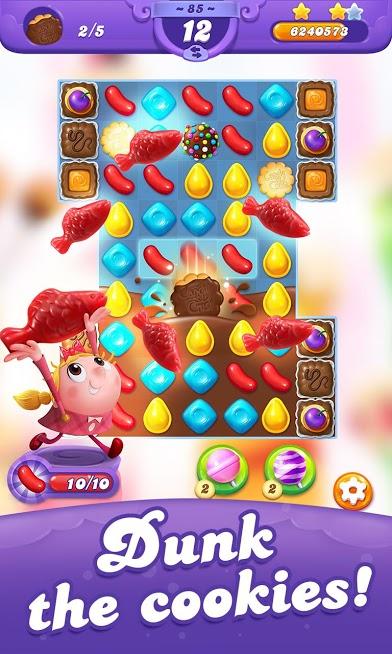 دانلود Candy Crush Friends Saga 1.57.4 - بازی حذف آب نبات اندروید