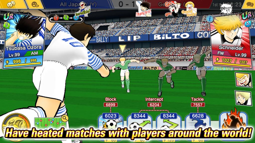 دانلود Captain Tsubasa: Dream Team 5.3.0 – بازی ورزشی فوتبالیست ها اندروید