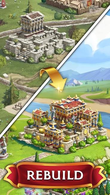 دانلود Jewels of Rome 1.28.2803 – بازی پازلی جواهرات روم اندروید