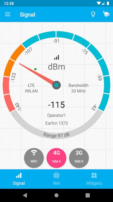 دانلود Signal Strength 24.1.2 – بررسی قدرت سیگنال ارتباطی اندروید