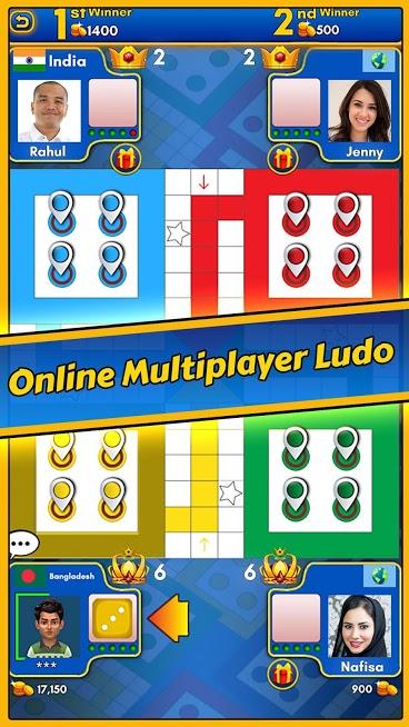 دانلود Ludo King 6.4.0.200 - بازی منچ و مارپله آنلاین اندروید