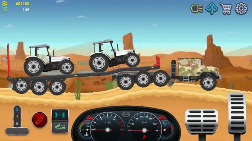 دانلود Trucker Real Wheels – Simulator 4.1.0 – بازی رانندگی با ماشین های سنگین اندروید