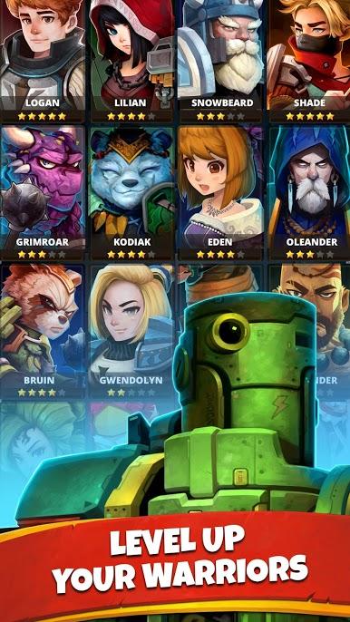 دانلود Battle Bouncers 1.16.1 – بازی نقش آفرینی قهرمانان نبرد اندروید
