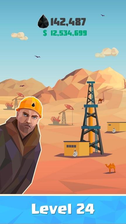 دانلود Idle Oil Tycoon 4.1.9 – بازی مدیریتی تاجر نفتی اندروید