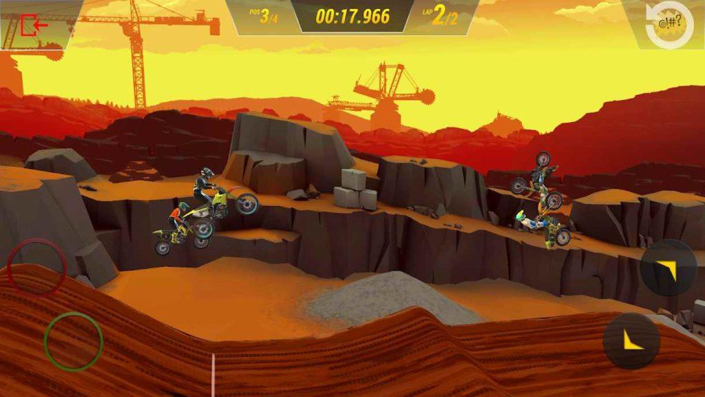 دانلود Mad Skills Motocross 3 1.0.6 – بازی مسابقات دیوانه وار موتورکراس 3 اندروید