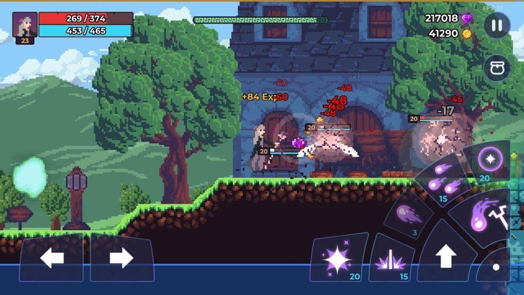دانلود Moonrise Arena – Pixel Action RPG 1.13.10 – بازی پیکسلی طلوع ماه اندروید