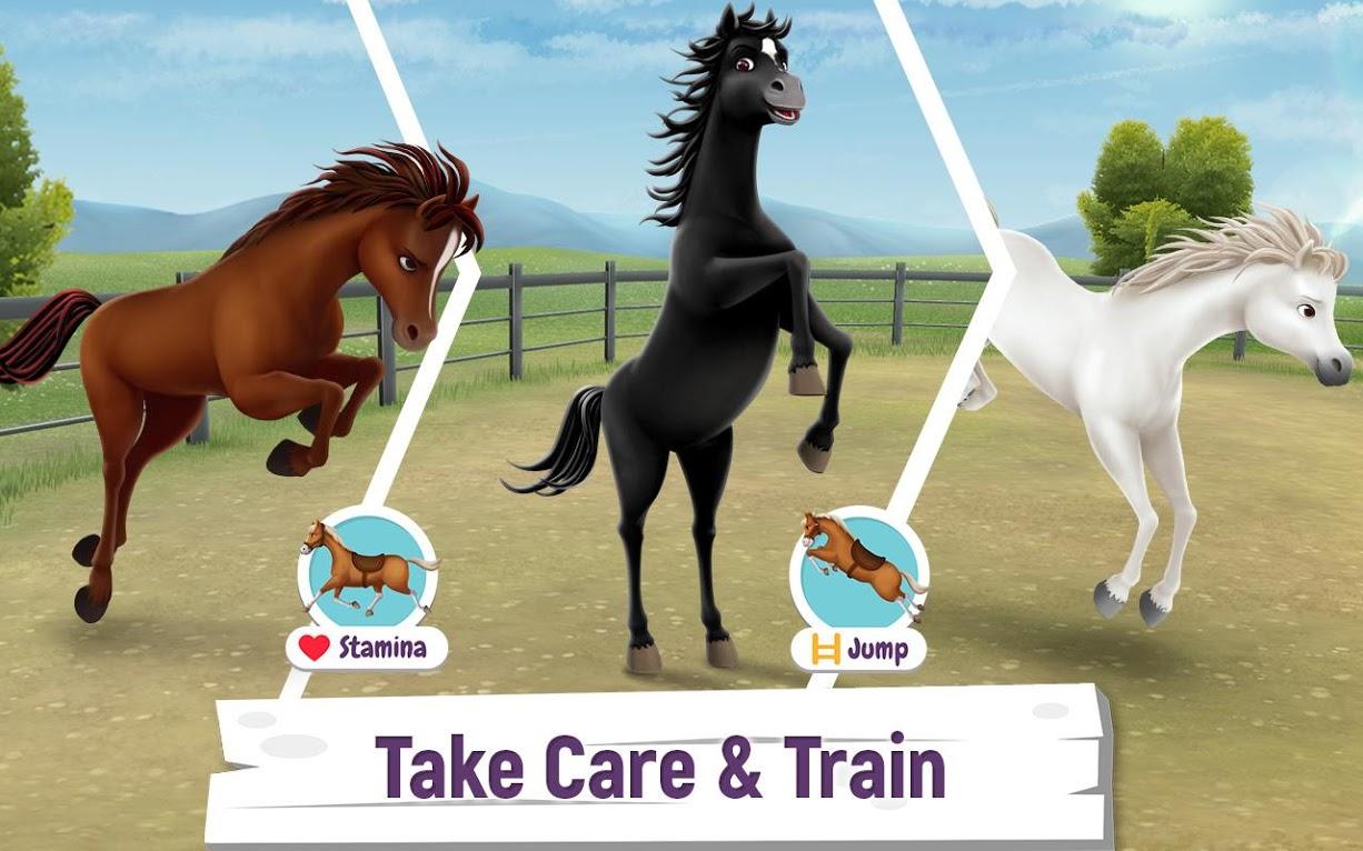 دانلود My Horse Stories 1.5.0 – بازی شبیه سازی داستان اسب من اندروید