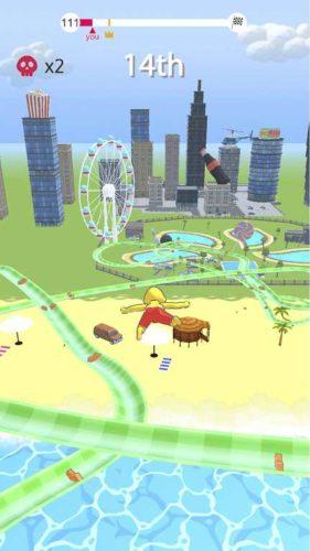 دانلود aquapark.io 4.2.9 – بازی آرکید شبیه ساز پارک آبی اندروید