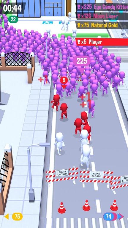 دانلود Crowd City 1.9.1 - بازی رقابتی شهرپر جمعیت اندروید