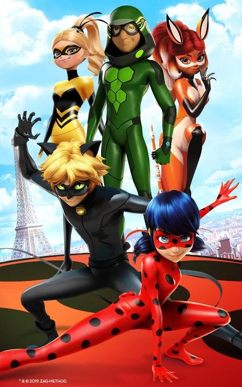 دانلود Miraculous Ladybug & Cat Noir 5.1.00 - بازی دوندگی جدید برای اندروید