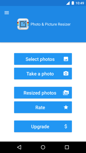 دانلود Photo & Picture Resizer Premium 1.0.294 - برنامه کاهش حجم عکس اندروید