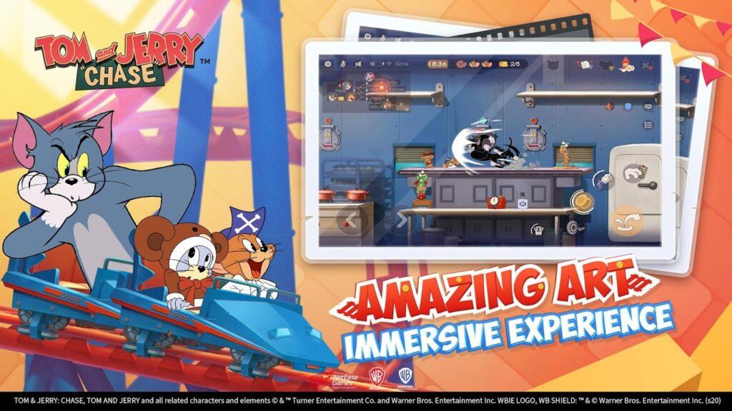 دانلود Tom and Jerry: Chase 5.3.22 – بازی تفننی تام و جری: تعقیب اندروید
