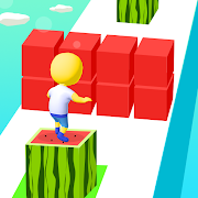 دانلود Cube Surfer! 2.4.2 – بازی رقابتی مکعب سوار اندروید
