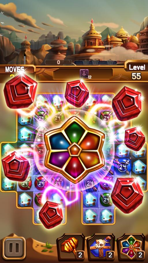 دانلود Fantastic Jewel of Lost Kingdom 1.4.0 – بازی جواهر خارق العاده پادشاهی گمشده اندروید