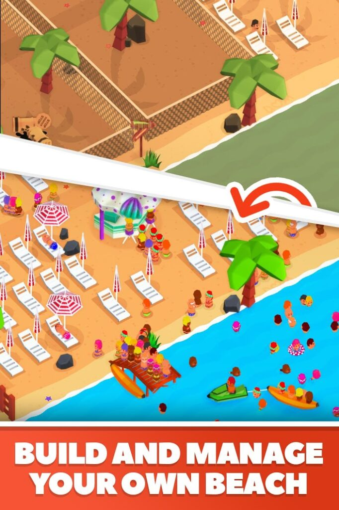 دانلود Idle Beach Tycoon 1.0.21 – بازی سرمایه دار ساحلی اندروید