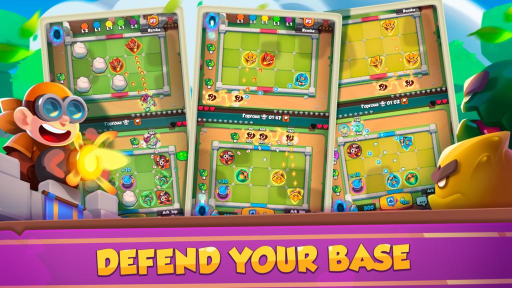 دانلود Rush Royale – Tower Defense 1.1.2650 – بازی راش رویال اندروید